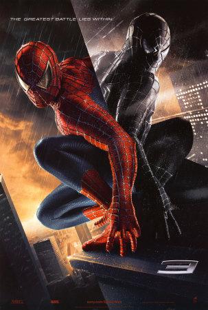 Uno de los carteles de Spiderman 3